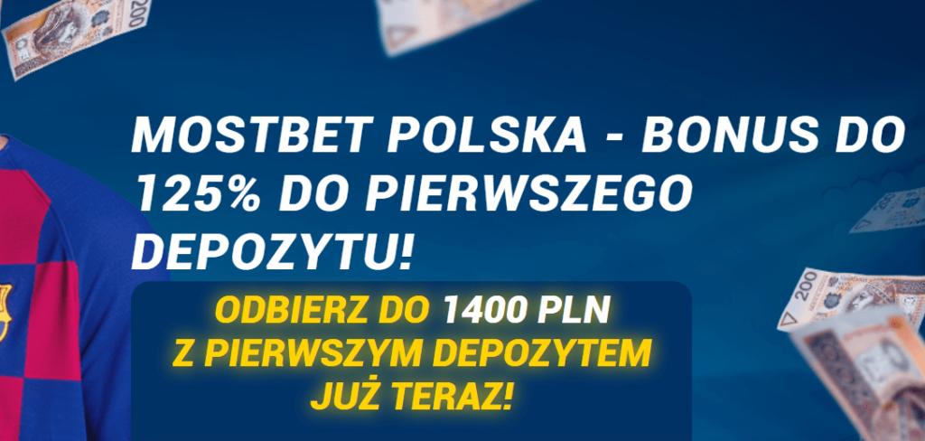 Mostbet PL bonus na start